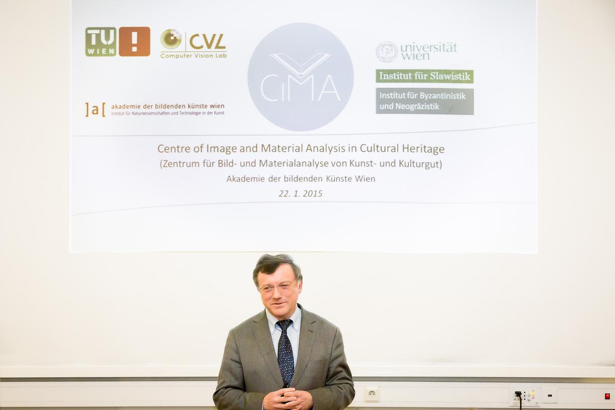 Images of CIMA presentation